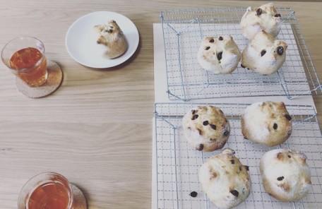 自家製酵母のパン教室を開催しました。