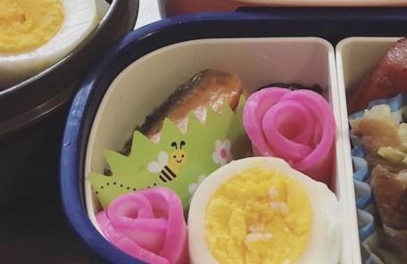保育園のお弁当の日で子どもたちに作ったお弁当