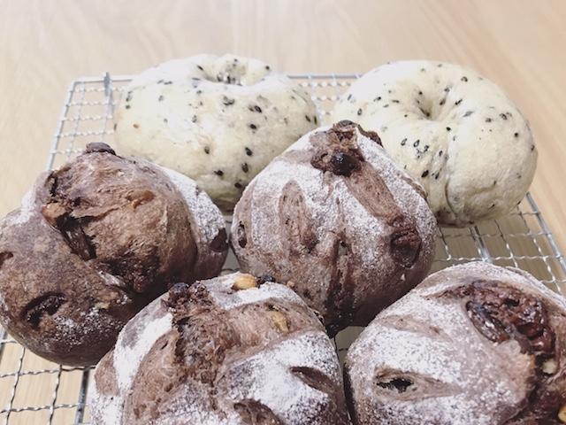 自家製酵母パン教室のメニュー、ラムレーズンショコラ