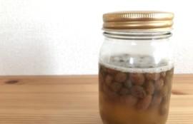 自家製酵母、レーズン酵母の作り方。できあがった酵母。