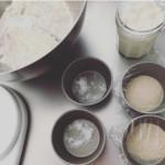 「おうちでパンづくりセット」販売予定のお知らせについて、材料の写真